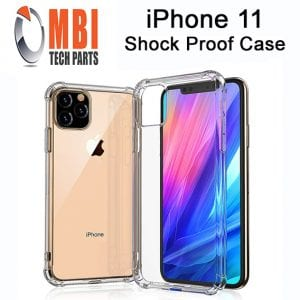 iPhone 11 Clear Case Anti Shock Edge Crystal Transparent Soft Gel TPU Cover
