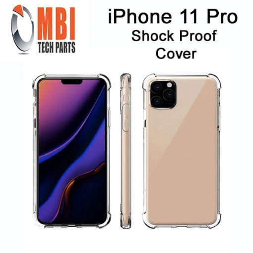 iPhone 11 Pro Clear Case Anti Shock Edge Crystal Transparent Soft Gel TPU Cover 2