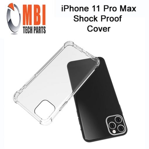 iPhone 11 Pro Max Clear Case Anti Shock Edge Crystal Transparent Soft Gel TPU Cover