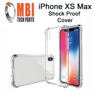 iPhone X XS XS Max Clear Case Anti Shock Edge Crystal Transparent Soft Gel TPU Cover E