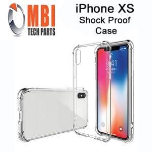 iPhone XS Clear Case Anti Shock Edge Crystal Transparent Soft Gel TPU Cover W