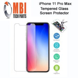 iPhone 11 Pro Max Tempered Protective Glass Protector E