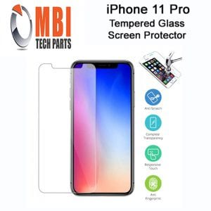 iPhone 11 Pro Tempered Protective Glass Protector E