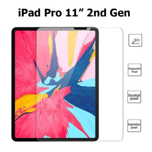 Tempered Glass Screen Protector for iPad Pro 11 2nd Generation